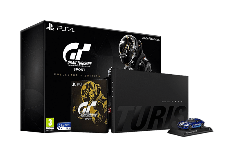 gran turismo sport collector 39 s edition ps4 akci s r konzolvil g. Black Bedroom Furniture Sets. Home Design Ideas