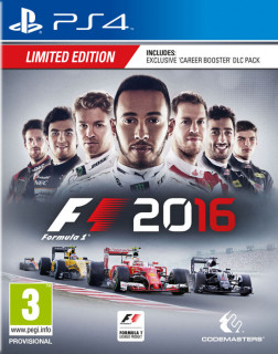 F1 2016 Limited Edition PS4