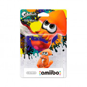 Squid amiibo (Narancssárga) - Splatoon Collection AJÁNDÉKTÁRGY