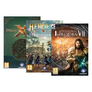 Might & Magic Heroes VII (7) + Might & Magic X (10) Legacy + Might & Magic III (3) HD Edition PC
