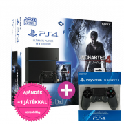Playstation 4 (PS4) 1TB Uncharted 4 A Thief's End + 1 kontroller PS4