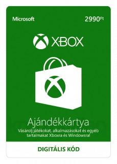 2990 forintos XBOX ajándékkártya (Letölthető) Több platform