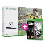 Xbox One S (Slim) 1TB + FIFA 17 + ajándék Rainbow Six Siege és választható ajándék XBOX ONE