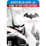Batman: Arkham City: Game of the Year Edition (PC) Letölthető