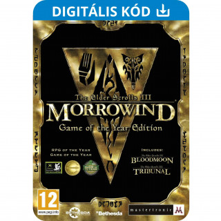 The Elder Scrolls III: Morrowind Game Of The Year (PC) Letölthető PC