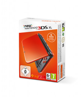 New Nintendo 3DS XL (Orange and Black) 3DS