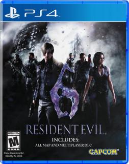 Resident Evil 6 (használt) PS4