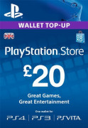 PSN Network kártya 20 Font (PSN Network Card - UK) MULTI