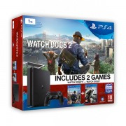 Playstation 4 Slim 1TB Watch Dogs 2 and Watch Dogs Bundle + ajándék kontroller PS4