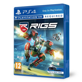 RIGS Mechanized Combat League VR PS4