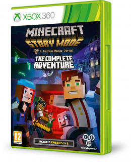 Minecraft Story Mode Complete Adventure Xbox 360