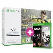 Xbox One S (Slim) 500 GB + FIFA 17 + Rainbow Six Siege és választható ajándék XBOX ONE