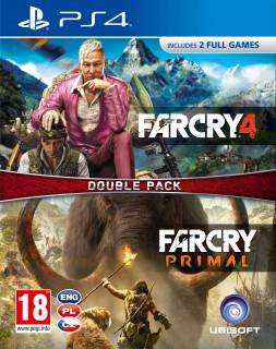 Far Cry Primal + Far Cry 4 (használt) PS4