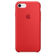 Apple IPhone 7 Piros szilikon tok (MMWN2ZM/A) Mobil