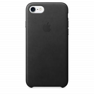 Apple IPhone 7 Fekete bőrtok (MMY52ZM/A) Mobil