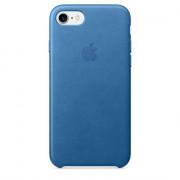 Apple IPhone 7 Tengerkék bőrtok (MMY42ZM/A) Mobil