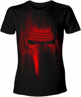 Star Wars Kylo Ren Red Lines - Póló - Good Loot (L-es méret) AJÁNDÉKTÁRGY