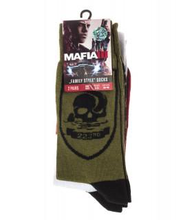 Mafia III Military & Logo Socks Pack - Zokni - Good Loot AJÁNDÉKTÁRGY