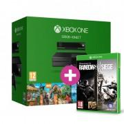Xbox One 500 GB + Kinect + Zoo Tycoon + Kinect Sports Rivals + ajándék Rainbow Six Siege és választható ajándék XBOX ONE