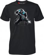 Gears of War 4 JD Fenix Action Black - Póló - Good Loot (L-es méret) AJÁNDÉKTÁRGY