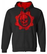 Gears of War 4 Omen Red - Kapucnis pulóver - Good Loot (L-es méret) AJÁNDÉKTÁRGY