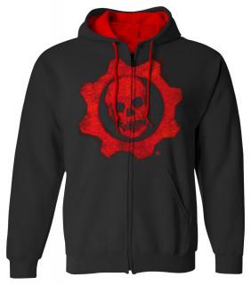 Gears of War 4 Omen Red - Kapucnis pulóver - Good Loot (XL-es méret) AJÁNDÉKTÁRGY