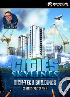 Cities: Skylines - Content Creator Pack: High-Tech Buildings (PC/MAC/LX) Letölthető PC