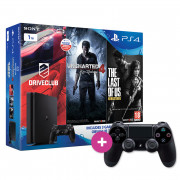 Playstation 4 (PS4) 1TB Gamer Pack + ajándék kontroller PS4