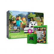 Xbox One S 500 GB + Minecraft + GTA 5 + ajándék kontroller XBOX ONE
