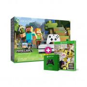 Xbox One S 500 GB + Minecraft + FIFA 17 + ajándék kontroller XBOX ONE