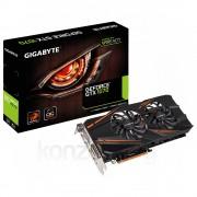 Gigabyte GeForce GTX 1070 8GB Windforce OC videokártya (GV-N1070WF2OC-8GD) PC