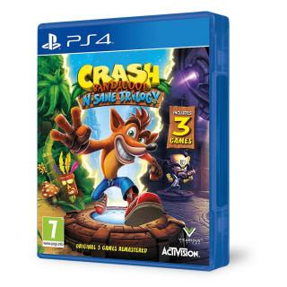 Crash Bandicoot N. Sane Trilogy (használt) PS4
