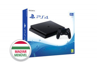 PlayStation 4 (PS4) Slim 500GB (használt) PS4