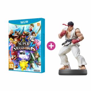 Super Smash Bros + amiibo Smash Ryu 56 WII