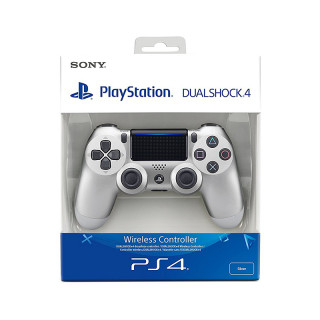 PlayStation 4 (PS4) Dualshock 4 Kontroller (Ezüst) (2017) PS4