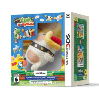 Poochy & Yoshi's Woolly World Amiibo Bundle 3DS