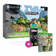 Xbox One S 500GB + FIFA 17 + Minecraft + Rainbow Six Siege és választható ajándék XBOX ONE