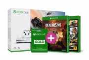 Xbox One S 1TB Forza Horizon 3 + GTA V + Rainbow Six Siege és választható ajándék XBOX ONE