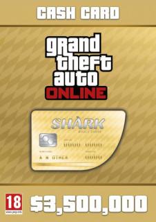 Grand Theft Auto Online: Whale Shark Card (PC) Letölthető PC