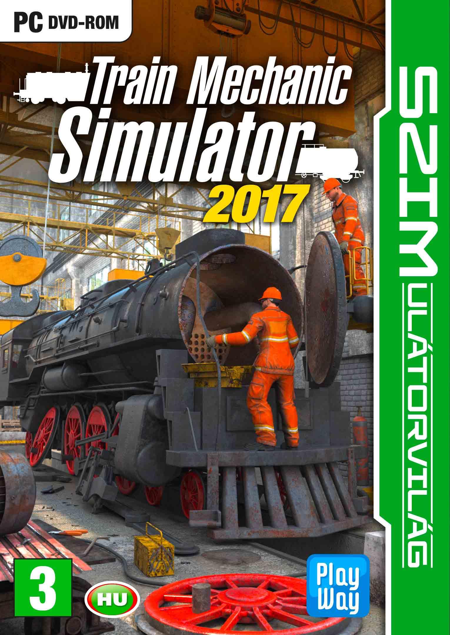 train mechanic simulator 2017 pc akci s r konzolvil g. Black Bedroom Furniture Sets. Home Design Ideas