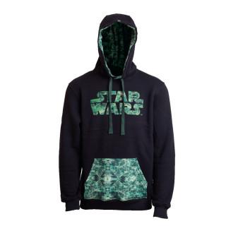 Star Wars CAMO Hoodie - Kapucnis pulcsi - Good Loot (S-es méret) AJÁNDÉKTÁRGY