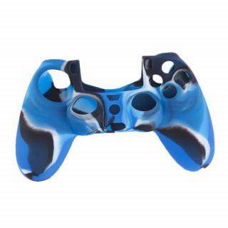 Dualshock 4 szilikontok (camo dark blue) PS4