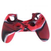 Dualshock 4 Szilikon Tok (Red Camo) PS4