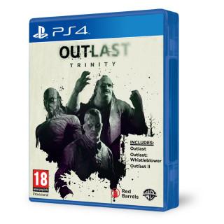 Outlast Trinity (Outlast I + Outlast II) PS4