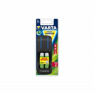 Varta Pocket Charger + AA 2100 MAH X 4 PC
