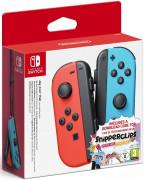 Nintendo Switch Joy-Con (Pair) (Piros-Kék) + Snipperclips Switch