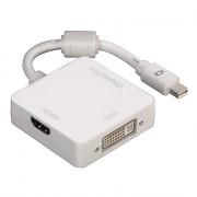 Hama 53245 3in1 Mini Displayport - DVI/DP/HDMI Adapter PC