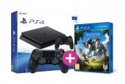 Playstation 4 (PS4) Slim 1TB + kontroller + Horizon Zero Dawn PS4