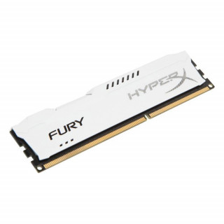Kingston DDR3 1866 4GB HyperX Fury CL10 Fehér HX318C10FW/4 PC