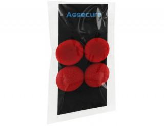 PS4 kontroller szilikon kopásgátló, piros PS4
